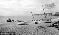 The Beach c.1965, Seaton