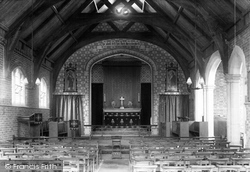 The Church Of The Good Shepherd, Interior 1898, Seaton