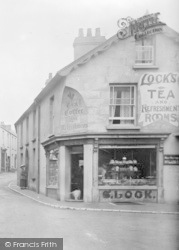 Seaton, The Square, Lock's Tea Rooms 1922