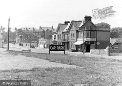 The Town From Car Park c.1950, Seaton