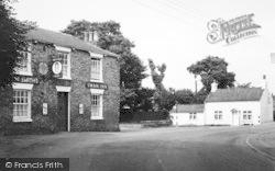Village And The Swan Inn c.1960, Seaton