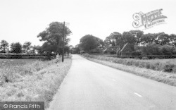 Wassand Lane End And Hornsea Road c.1960, Seaton