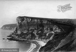 Seaton, White Cliff c.1871
