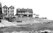 Seaview, Starboard Club and Quay Rocks Hotel c1960