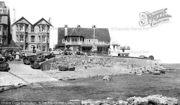 Photo of Seaview, Starboard Club and Quay Rocks Hotel c1960