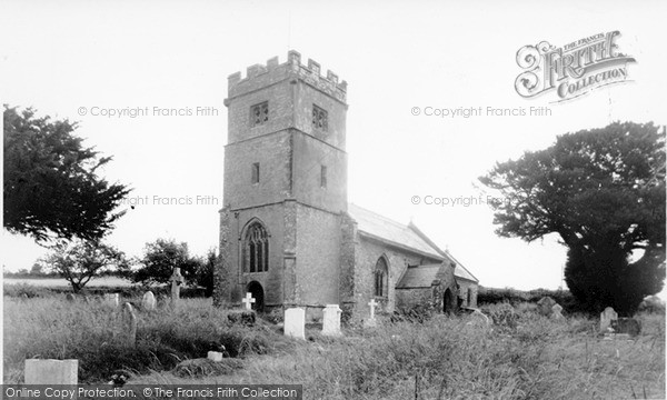 Photo of Seavington St Mary, St Mary's Church c1955, ref. S791002