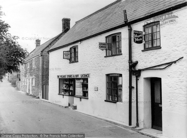 Photo of Seavington St Mary, the Post Office Stores c1960, ref. S791301