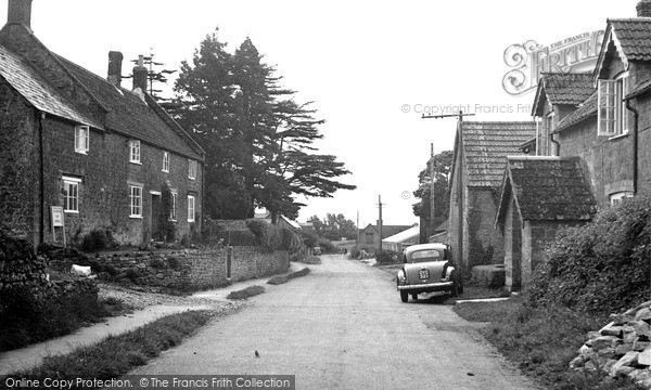 Photo of Seavington St Mary, the Village c1955, ref. S791010