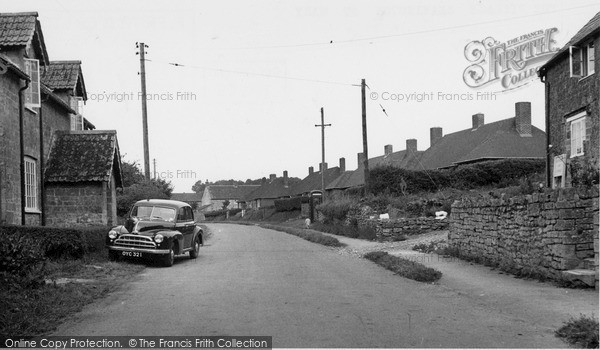 Photo of Seavington St Mary, the Village c1955, ref. S791011