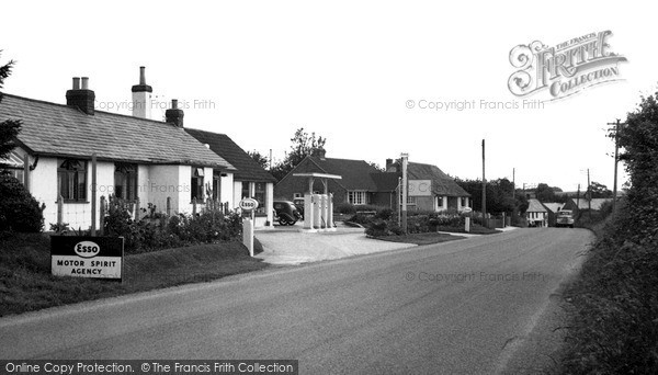 Photo of Seavington St Mary, the Village c1955, ref. S791012