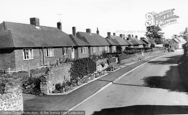 Photo of Seavington St Mary, the Village c1955, ref. S791014