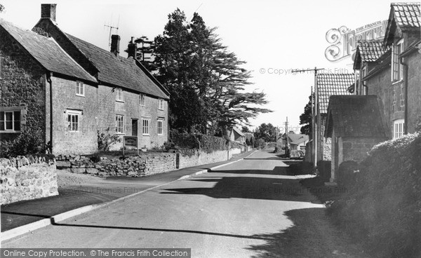 Photo of Seavington St Mary, the Village c1955, ref. S791015
