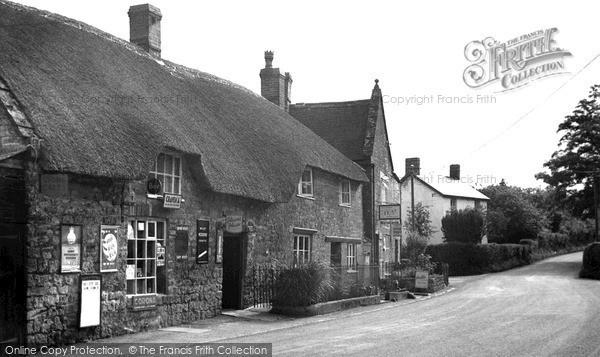Photo of Seavington St Michael, the Post Office c1955, ref. S792005