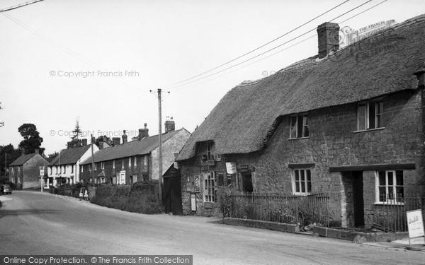 Photo of Seavington St Michael, the Village c1955, ref. S792003