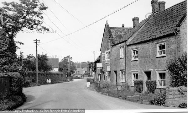 Photo of Seavington St Michael, the Village c1955, ref. S792004