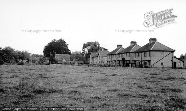 Photo of Seavington St Michael, the Village c1955, ref. S792008