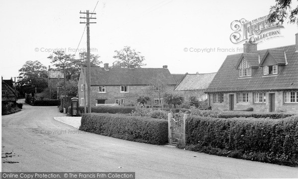 Photo of Seavington St Michael, the Village c1955, ref. S792013