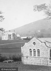 Sedbergh, Baths And Schoolhouses 1890