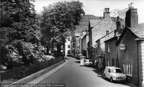Photo of Sedbergh, Finkle Street c.1960