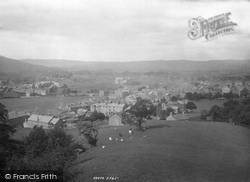 Sedbergh, From The Flagstaff 1894