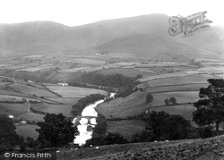 Sedbergh, Lune Bridge And Howgill Fells 1924