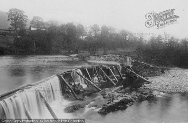Photo of Sedbergh, Mill Weir 1890