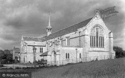 Sedbergh, School Chapel 1901