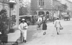Sedbergh, Shopping In The Market Place 1923