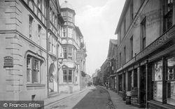 Sedbergh, The Bull Hotel And Main Street 1923