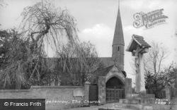 The Church Of St Mary The Virgin c.1955, Sedgeberrow