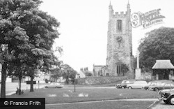 Sedgefield, The Church And Green c.1965