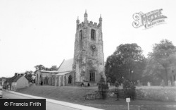 Sedgefield, The Church c.1965
