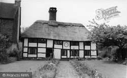 Sedlescombe, The Old Thatch c.1960
