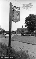 Sedlescombe, The Village Sign c.1960