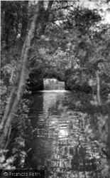 Sedlescombe, The Waterfall c.1960