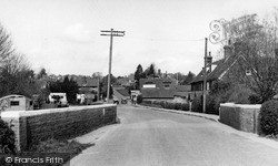 Sedlescombe, View From The Bridge c.1955