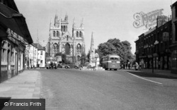 Abbey And Market Cross 1952, Selby