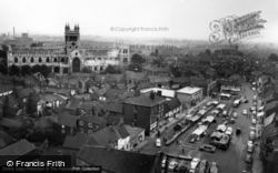 Abbey And Town c.1965, Selby
