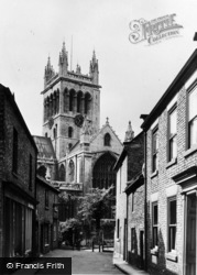 Selby, Abbey c.1950