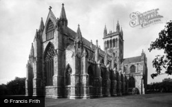 Selby, Abbey, From The North East 1924