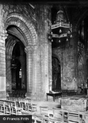 Selby, Abbey, Interior c.1950