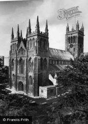 Selby, Abbey, South West 1936