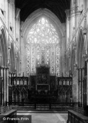 Abbey, The Choir 1893, Selby