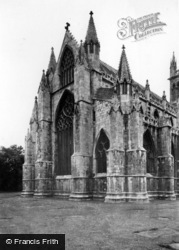 Selby, Abbey, The Eastern End c.1955
