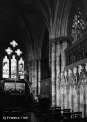 Abbey, The Lady Chapel c.1955, Selby