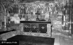 Abbey, The Lady Chapel c.1960, Selby