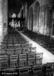Abbey, The Nave c.1965, Selby