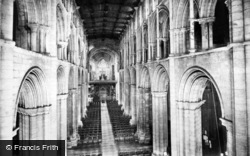 Selby, Abbey, The Nave East 1913