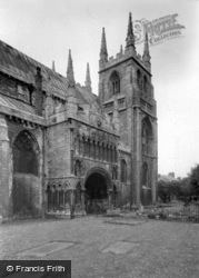 Abbey, The North Porch c.1955, Selby