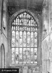 Selby, Abbey, The North Window c.1960